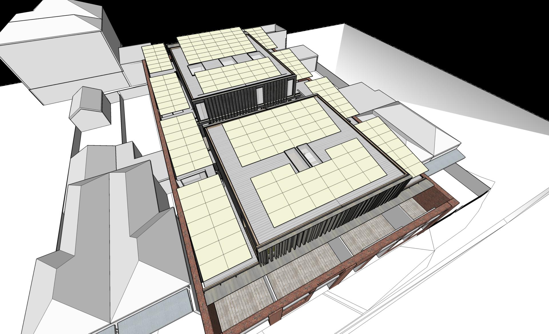 solar roof concept